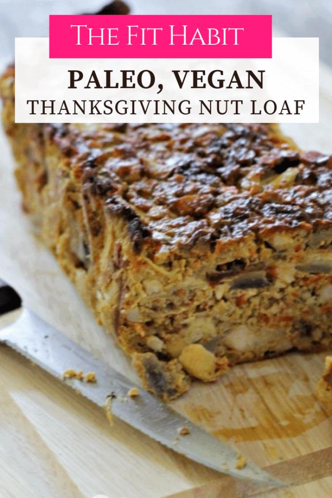 vegan thanksgiving loaf