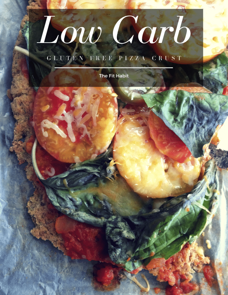 low carb gluten free cauliflower pizza crust recipe